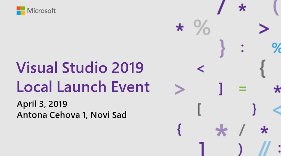 Visual Studio Local Launch Event 2019