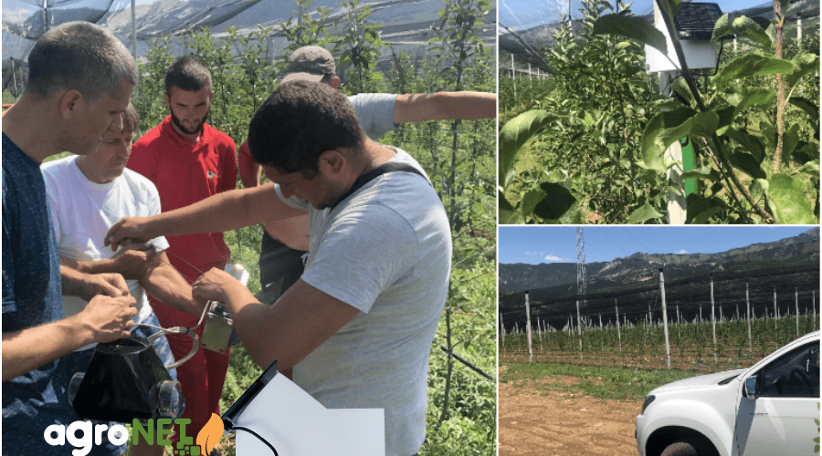 Implementation of agroNET solution in Montenegro