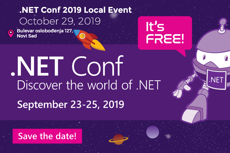 .NET Conf Local Event
