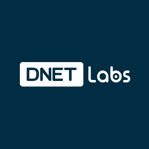 DNET Labs Logo for dark background