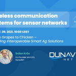 Wireless communication systems for sensor networks